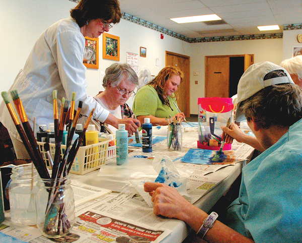 Adult Daycare Painting
