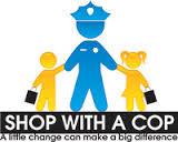 shop with a cop stick figures